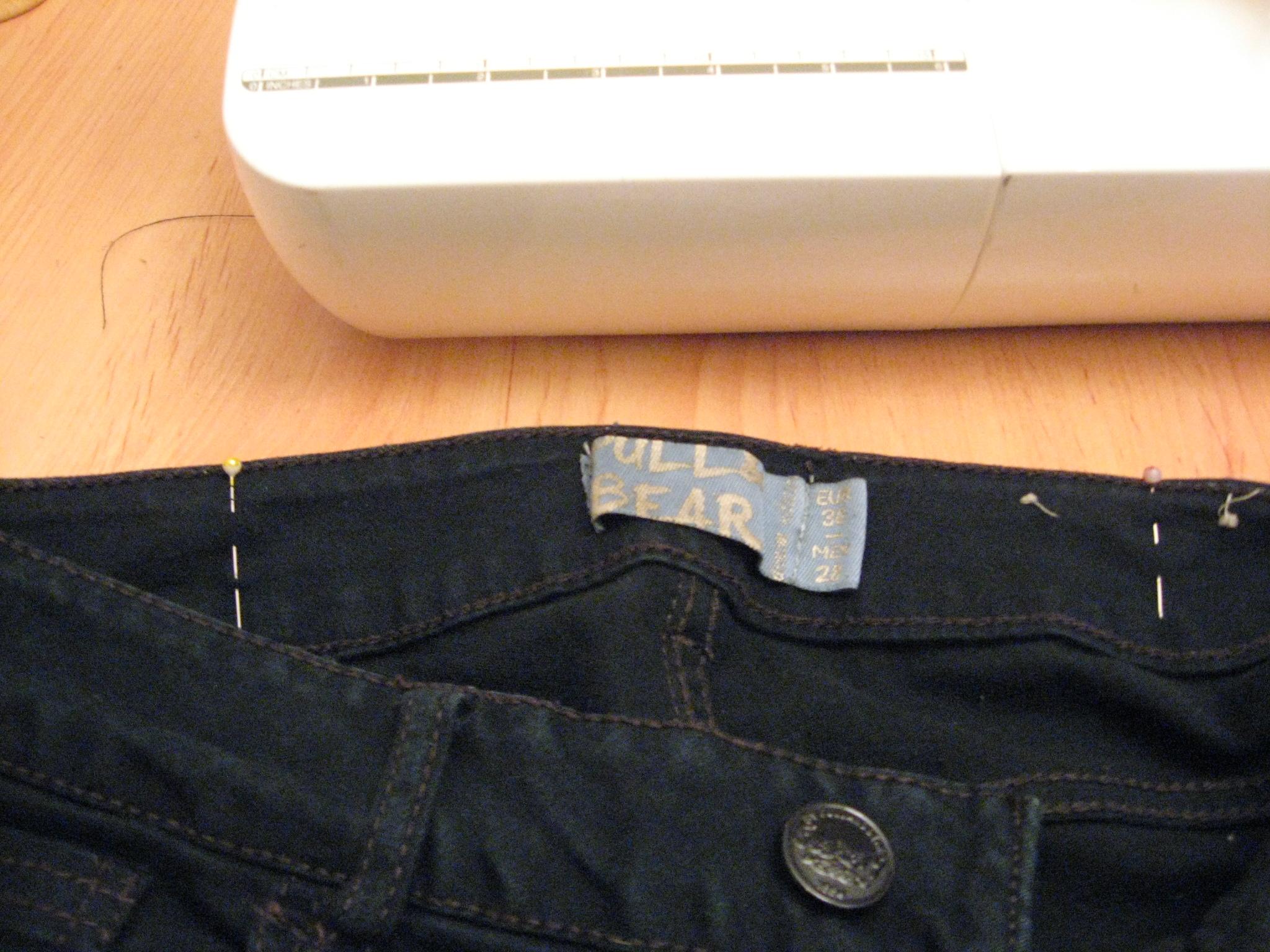 estrechar cintura pantalon