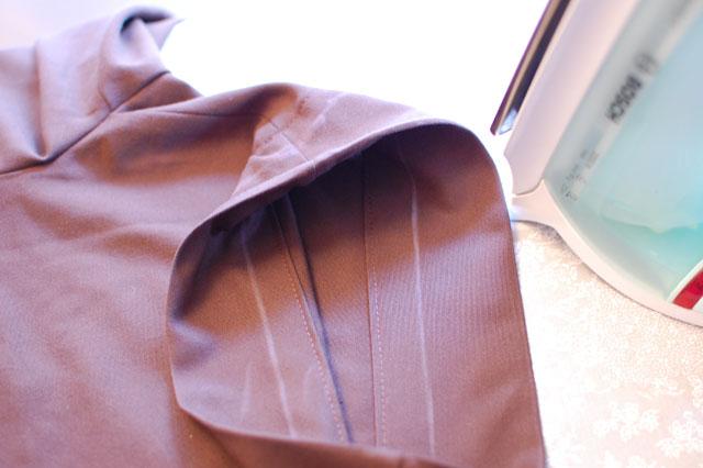 bajo pantalon coser