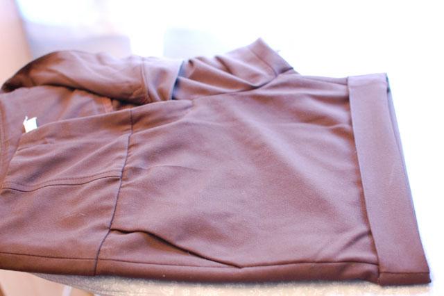 como coser bajo de doble vuelta