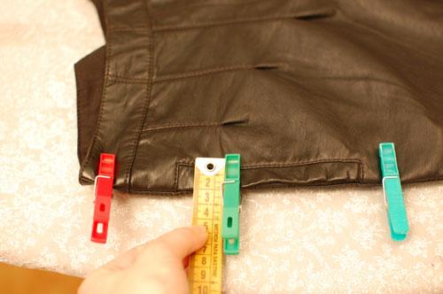 Arreglos chaqueta de cuero barcelona