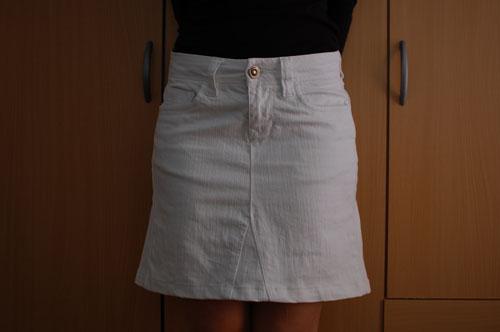 6b2012165 Cómo hacer una falda con un pantalón | Momita's blog