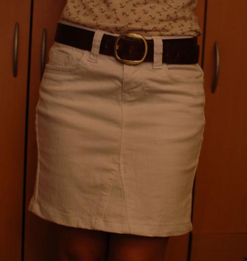 ae44dc9a1 Cómo hacer una falda con un pantalón | Momita's blog