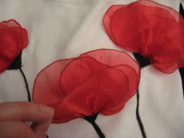 flores de gasa