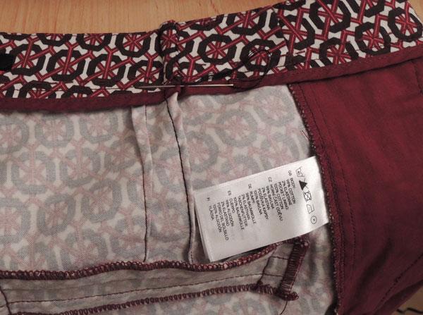 7a89a1d85 Cómo acoplar un pantalón de cintura