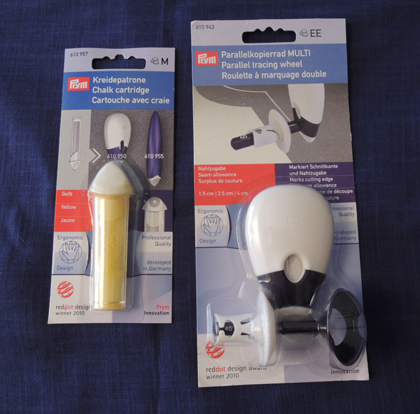 Ruleta doble de Prym para marcar costuras | Momita\'s blog