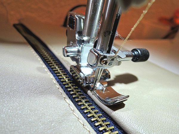coser cuero prensatelas especial