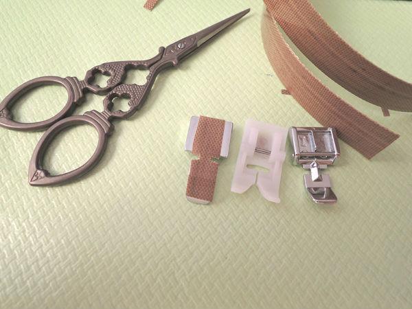 prensatelas coser piel cuero