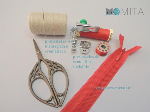 Como coser cremallera invisible