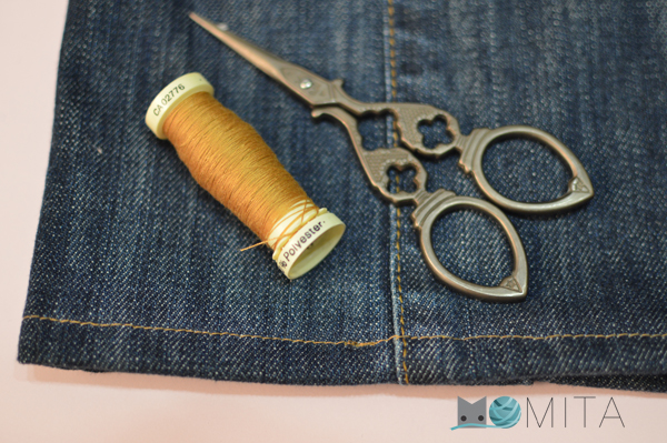 DIY JEANS tutorial