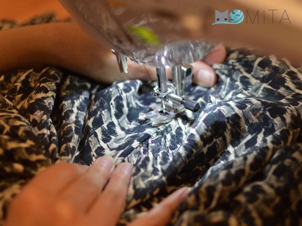 Como coser goma cintura