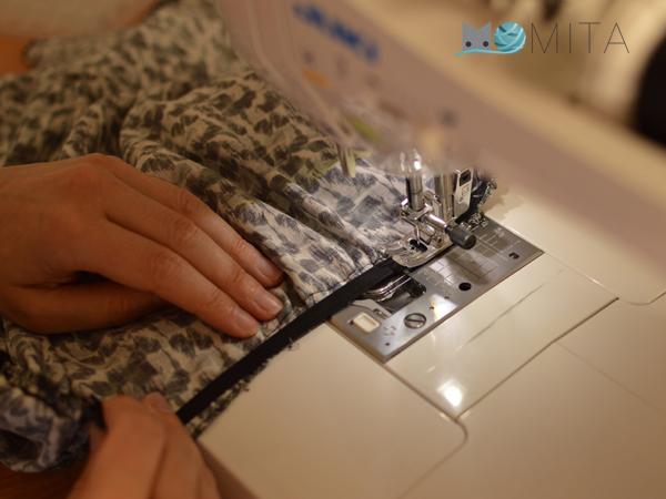 Como coser goma