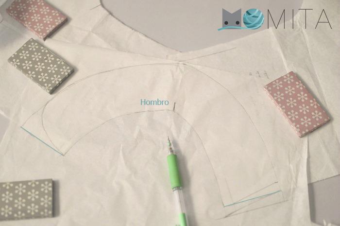 DIY pattern collar Peter Pan