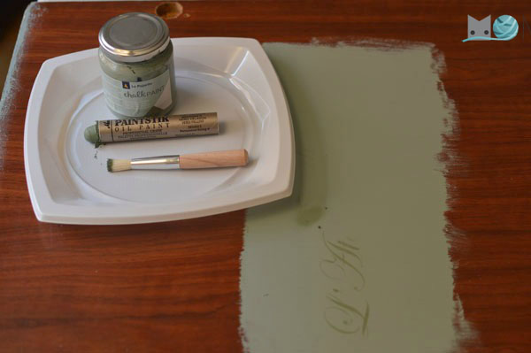 pintar con chalk paint
