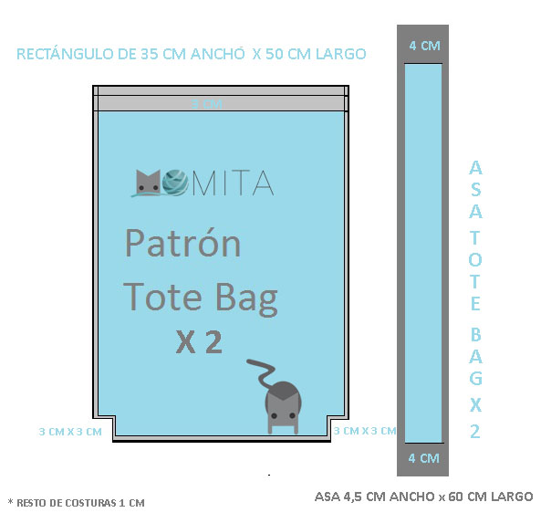 PATRON TOTE BAG