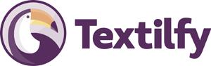 Logo Textilfy horizontal_ByN