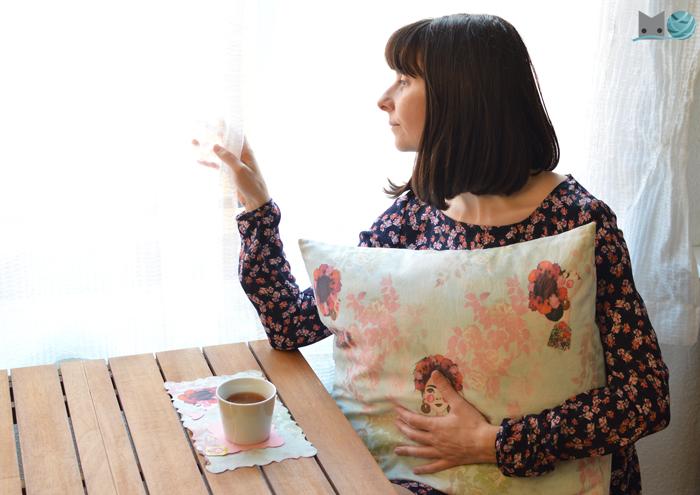 Cómo hacer cojín sin cremallera | Momita\'s blog