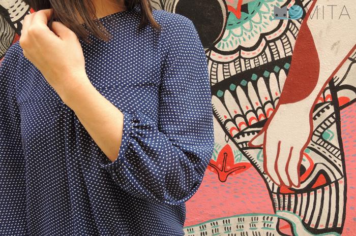blouse mila schnittchen