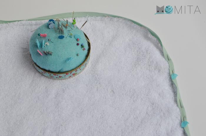 coser capa baño