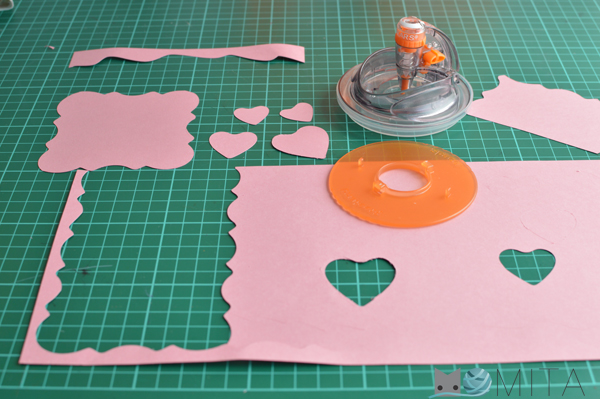 cortar papel moldes