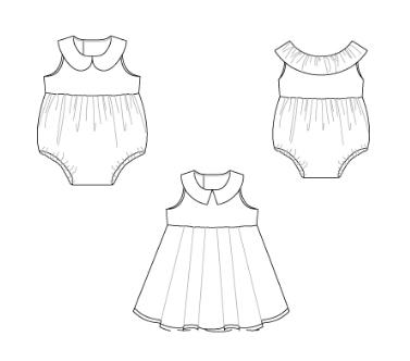 patrones ropa bebé