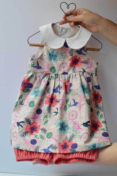 coser ropa bebé