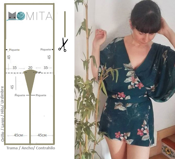 Patrón kimono | Momita\'s blog