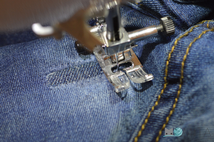 Arreglar Un Vaquero Roto En La Entrepierna Momita S Blog