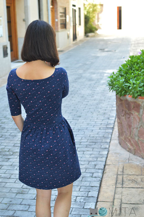 vestido monetta espalda
