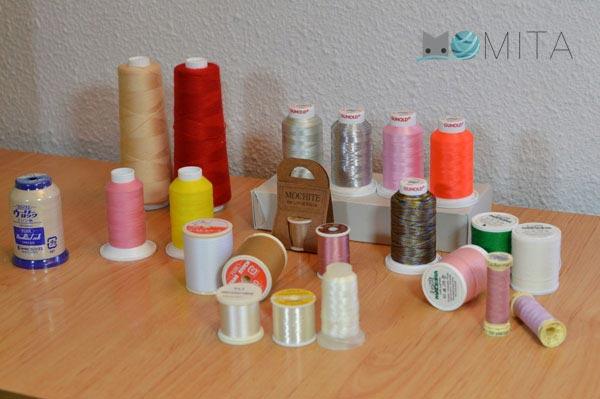 hilos para maquina de coser