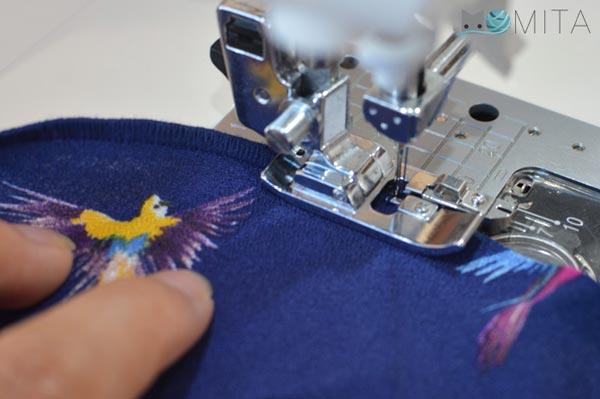 coser despacio y bien