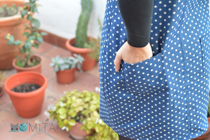 como coser bolsillo
