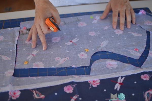 consejos material cortar tela