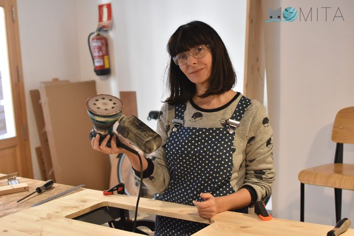 Hacer mueble para maquina de coser