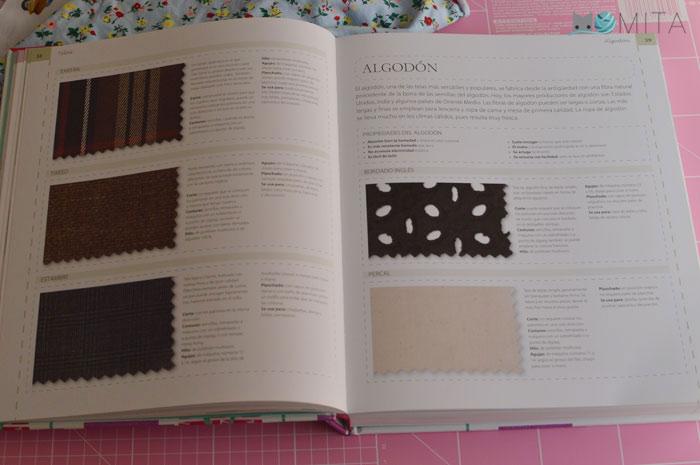 Tipos de telas libro