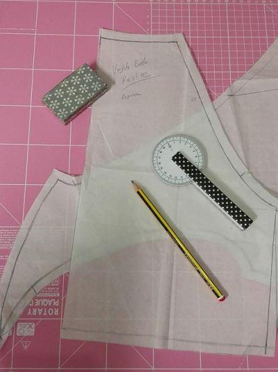 regla para curvas de costura
