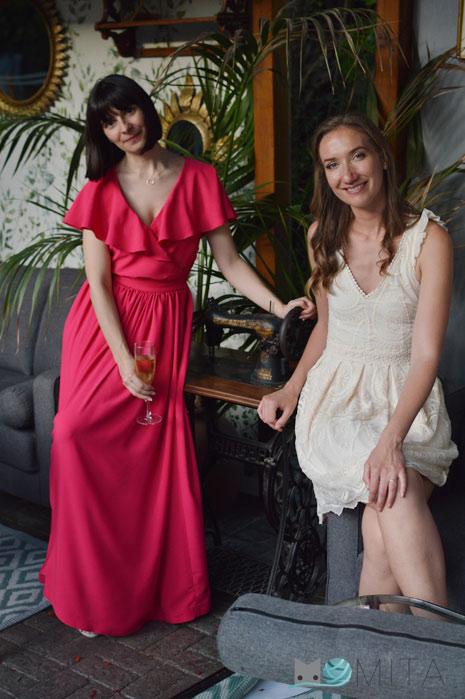 Coser vestido de fiesta