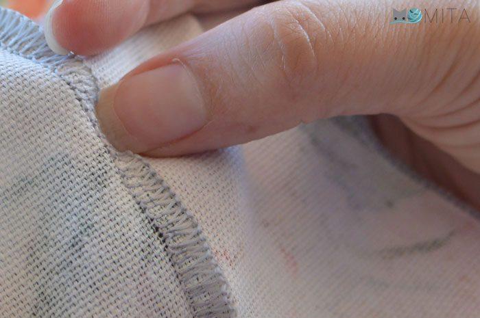cómo coser con máquina overlock