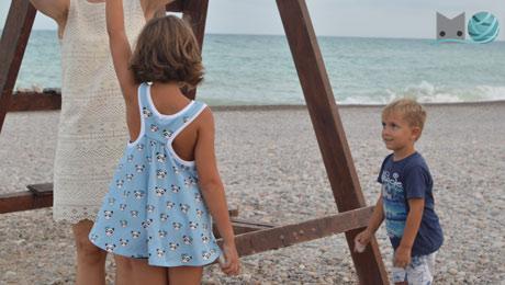 patrón camiseta para niña