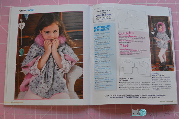 revista patrones niñas