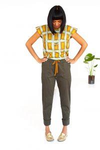 Patrón Seamwork pantalones