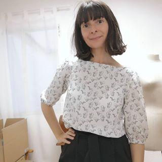patron blusa