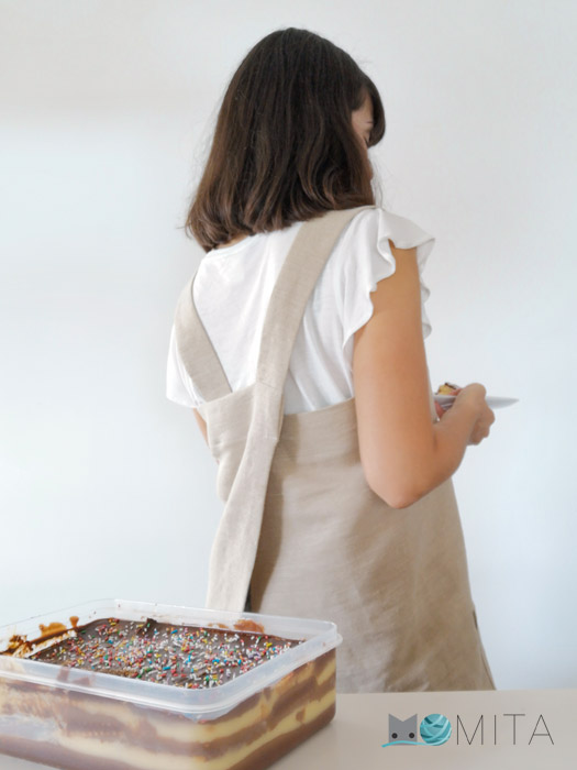 delantal fácil coser