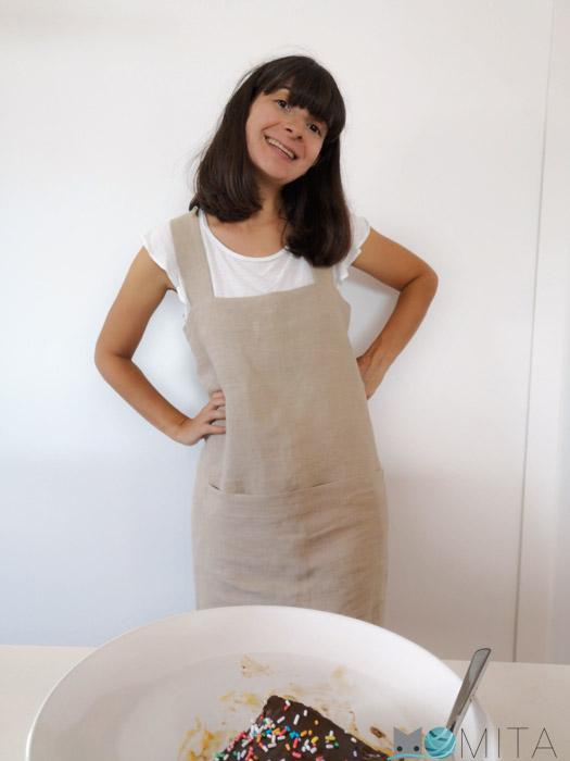 coser un delantal