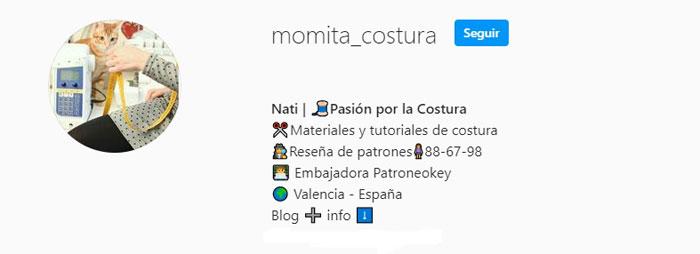 Instagram Momita