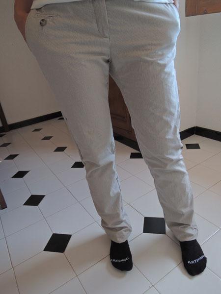 Como reducir piernas de pantalon