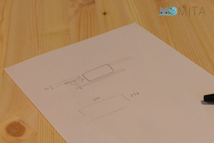diseñar mueble para maquina de coser
