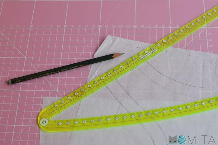 reglas modista para curvas y margenes