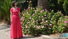 Coser vestido boda con patrón