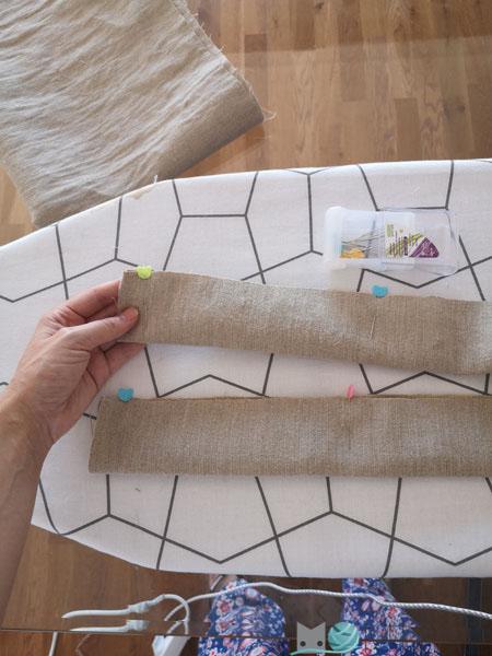 coser tirante