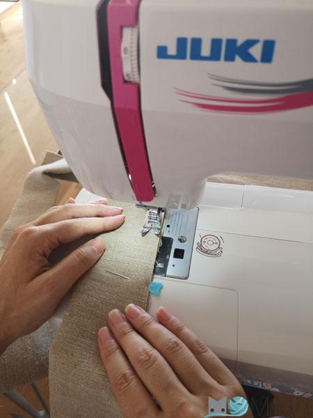coser lino
